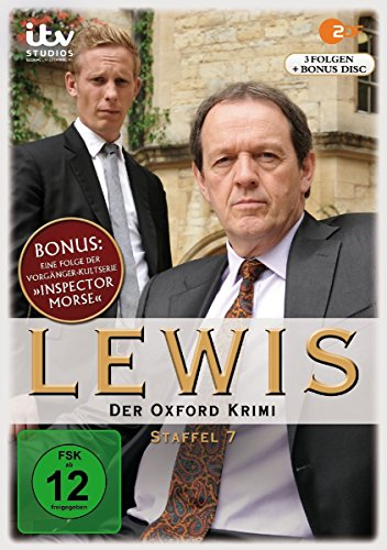 Lewis - Der Oxford Krimi Staffel 7 (4 DVDs)