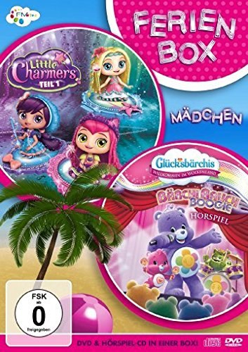 Ferienbox für Mädchen: Little Charmers + Glücksbärchis - Willkommen im Wolkenland (inkl. Hörspiel-CD)