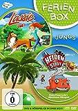 Ferienbox für Jungs: Lassie + Die Helden der Stadt (inkl. Hörspiel-CD)