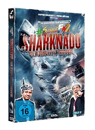 #SchleFaZ Sharknado - Die komplette Trilogie (4 DVDs)