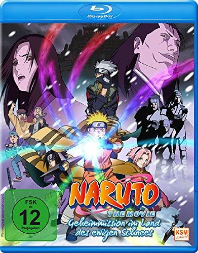 Naruto The Movie: Geheimmission im Land des ewigen Schnees [Blu-ray]