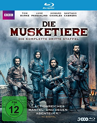 Die Musketiere Staffel 3 [Blu-ray]