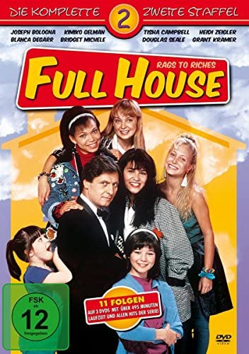 Full House: Rags to Riches Staffel 2 (3 DVDs)