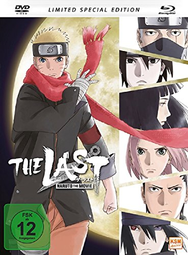 The Last: Naruto - The Movie (Special Edition im Mediabook inkl. DVD) [Blu-ray]