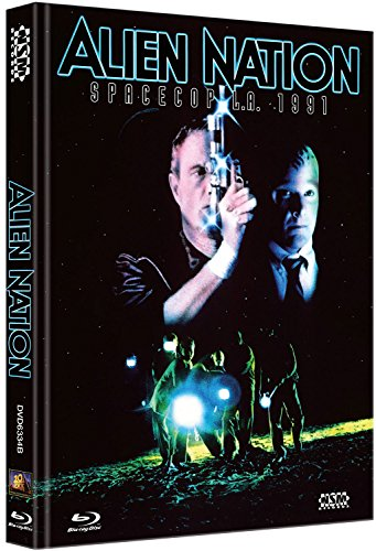 Alien Nation - Spacecop L.A. 1991 (uncut) (Limited Edition Mediabook mit DVD) [Blu-ray]