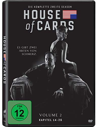 House of Cards Staffel 2 (4 DVDs)
