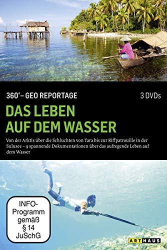 360° - Die GEO-Reportage: Das Leben auf dem Wasser (3 DVDs)