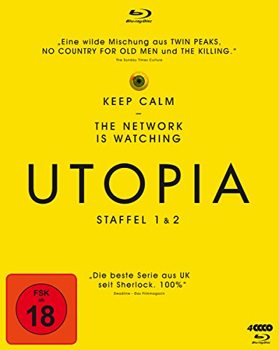 Utopia Staffel 1+2 [Blu-ray]