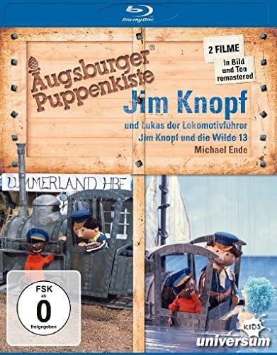 Augsburger Puppenkiste - Jim Knopf und Lukas der Lokomotivführer  / Jim Knopf und die Wilde 13 [Blu-ray]