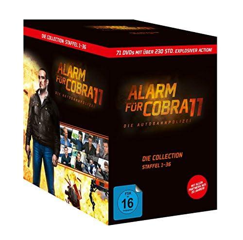 Alarm für Cobra 11 Staffel  1-36 (71 DVDs)