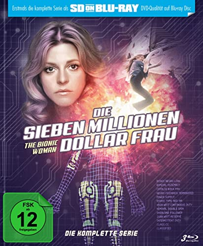 Die sieben Millionen Dollar Frau Die komplette Serie (Limited Edition) [SD on Blu-ray]
