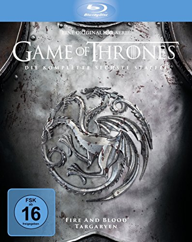 Game of Thrones Staffel 6 (Limited Edition Digipack + Bonusdisc) [Blu-ray]