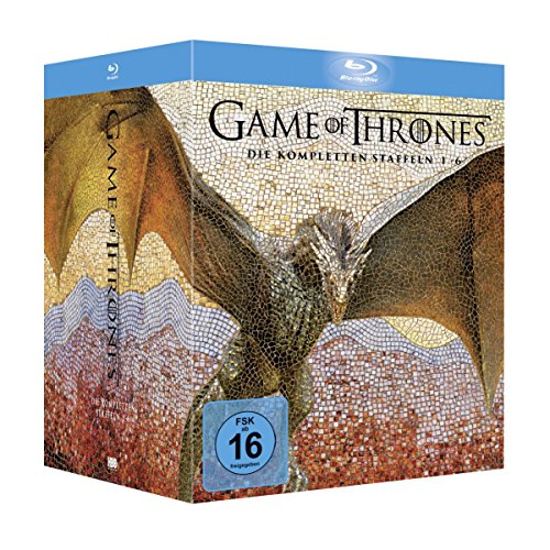 Game of Thrones Staffel 1-6 (Limited Edition Digipack + Fotobuch + Bonusdiscs) [Blu-ray]