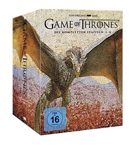 Game of Thrones Staffel 1-6 (Limited Edition Digipack + Fotobuch + Bonusdiscs)