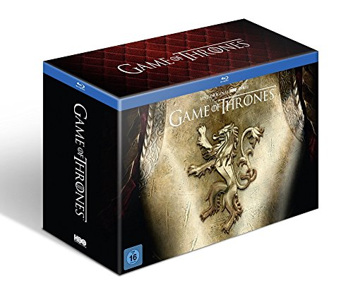 Game of Thrones Staffel 1-6 (Ultimate Collector's Edition mit Figur + Fotobuch + Bonusdiscs) [Blu-ray]