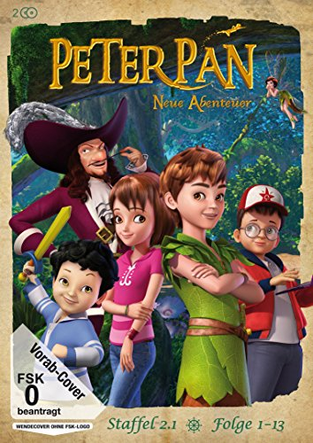 Peter Pan - Neue Abenteuer: Staffel 2.1 (2 DVDs)