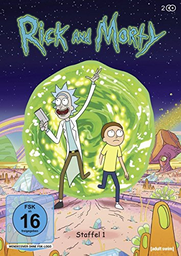Rick and Morty Staffel 1 (2 DVDs)