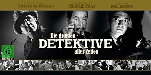 Die größten Detektive aller Zeiten - Box (34 DVDs)