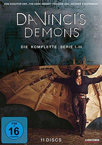 Da Vinci's Demons Die komplette Serie (11 DVDs)