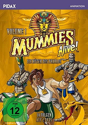 Mummies Alive - Die Hüter des Pharaos, Vol. 1 (2 DVDs)