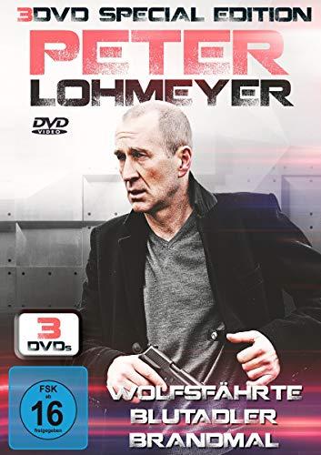 Peter Lohmeyer: Wolfsfährte, Bludadler, Brandmal (Special Edition) (3 DVDs)