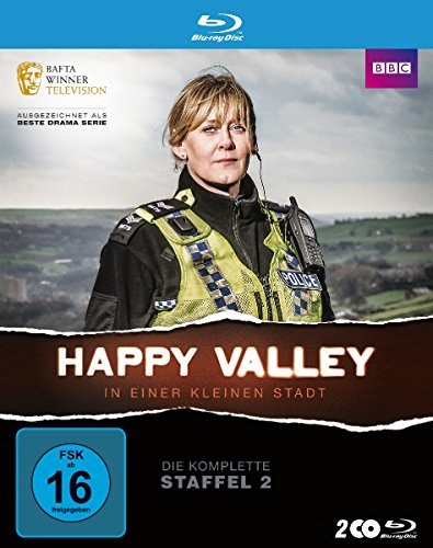 Happy Valley - In einer kleinen Stadt: Staffel 2 [Blu-ray]