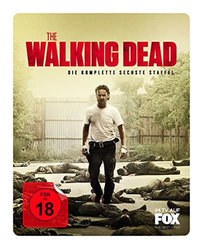 The Walking Dead Staffel 6 (Uncut) (Steelbook) [Blu-ray]