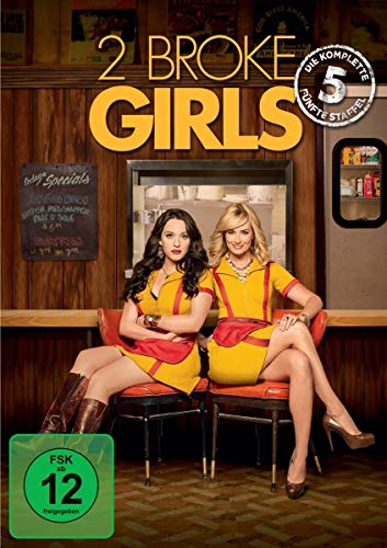 2 Broke Girls Staffel 5 (3 DVDs)