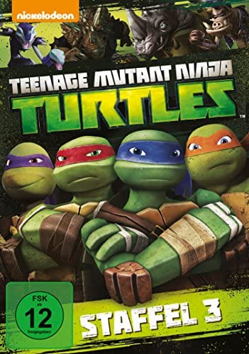 Teenage Mutant Ninja Turtles Season 3 (4 DVDs)