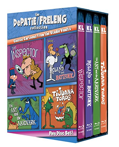 The DePatie/Freleng Collection Vol. 1 (Inspector / Roland and Rattfink / The Ant and the Aardvark / Tijuana Toads) [Blu-ray]