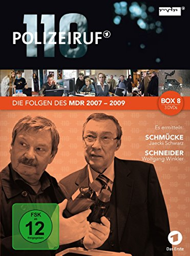 Polizeiruf 110 MDR-Box 8 (3 DVDs)