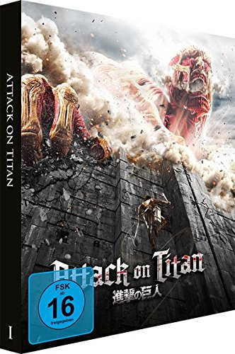 Attack on Titan Film 1 (Limited Edition Steelbook) [Blu-ray]