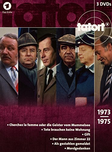 Tatort 70er Box, Vol. 2 (1973-1975) (3 DVDs)