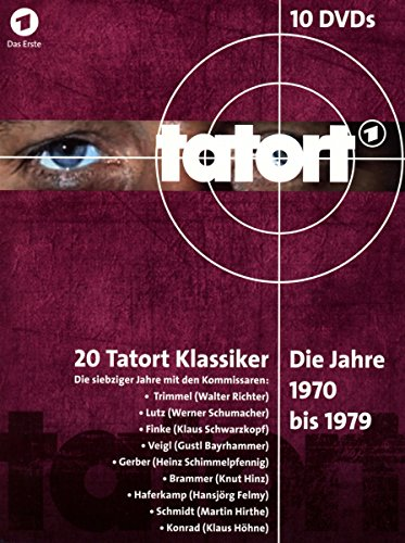 Tatort 70er Box Komplett (1970-1979) (10 DVDs)