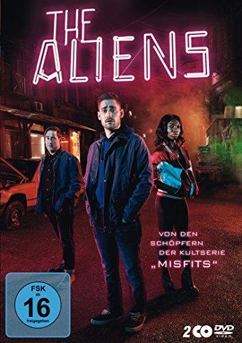 The Aliens 2 DVDs