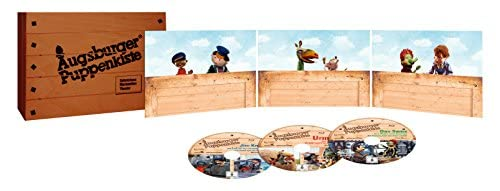 Augsburger Puppenkiste Holzkiste (Special Edition) [Blu-ray]