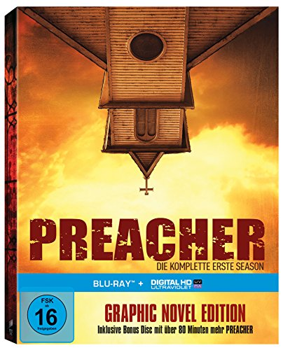 Preacher Staffel 1 (Limited Edition inkl. Hardcover-Comic + Bonus Disc) (exklusiv bei Amazon.de) [Blu-ray]