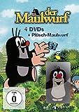 Box 1-4 + Plüsch-Maulwurf (4 DVDs)