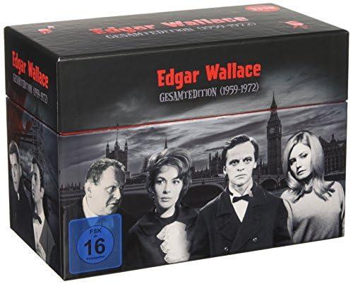 Edgar Wallace Gesamtedition (1959-1972) (33 DVDs)
