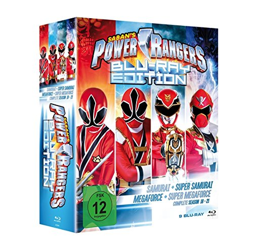 Power Rangers - Blu-ray Edition (Samurai + Super Samurai + Megaforce + Super Megaforce) [Blu-ray]