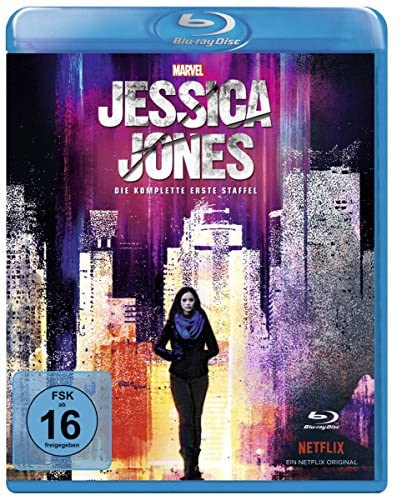Marvel's Jessica Jones Staffel 1 [Blu-ray]