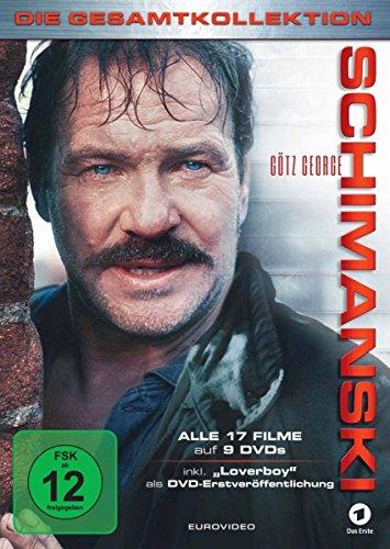 "Schimanski Die Gesamtkollektion (alle 17 Filme inkl. ""Loverboy"") (9 DVDs)"