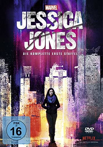 Marvel's Jessica Jones Staffel 1 (4 DVDs)
