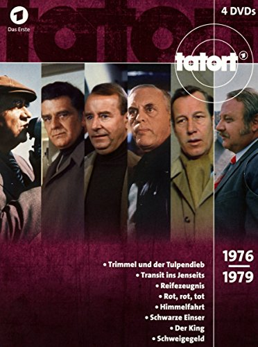 Tatort 70er Box, Vol. 3 (1976-1979) (4 DVDs)