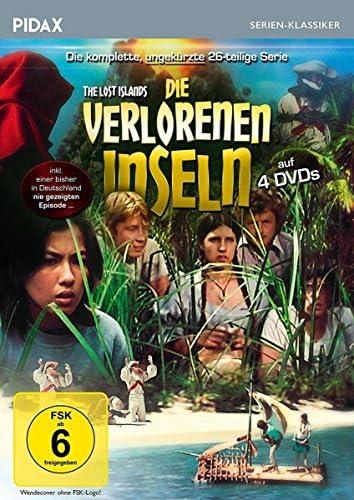 Die verlorenen Inseln Die komplette Serie (4 DVDs)