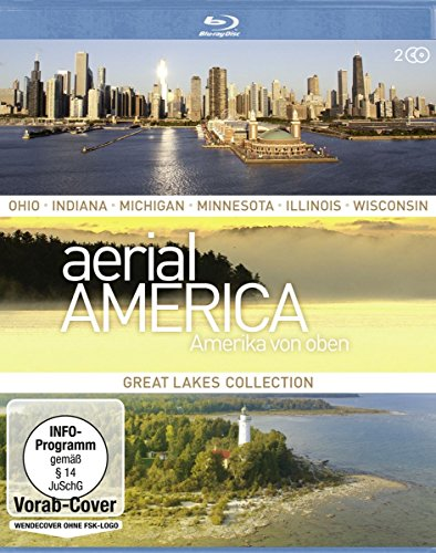 Aerial America Amerika von oben: Great Lakes [Blu-ray]