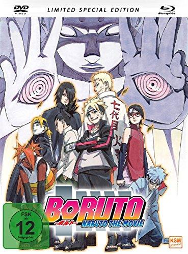 Boruto - Naruto The Movie (Limited Edition DVD + BR) [Blu-ray] Limited Edition DVD + BR [Blu-ray]
