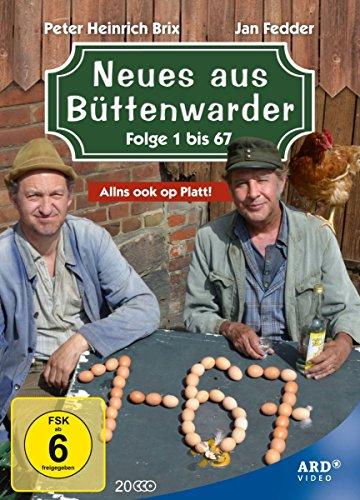 Neues aus Büttenwarder Folge 1 bis 67 (20 DVDs)
