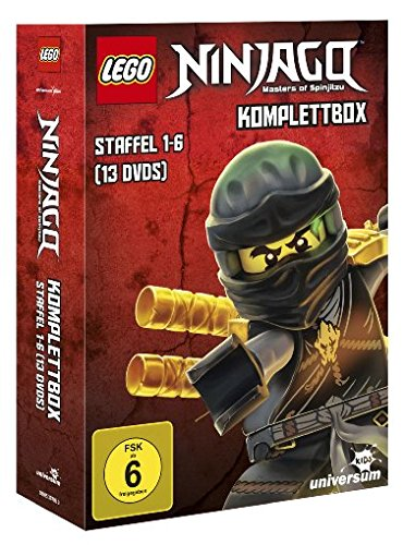 LEGO Ninjago Staffel 1-6 Komplettbox (13 DVDs)