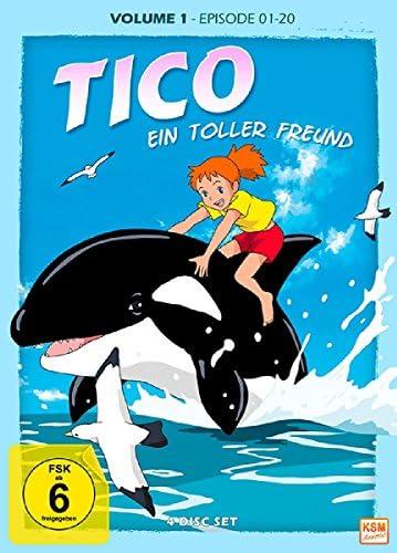 Tico - Ein toller Freund: DVD 1 (Episoden 1-20) (4 DVDs)